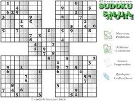 Jeux et animations - Plusieurs grilles de sudoku a imprimer ...